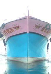 fishing boat for sale. good conditon in neendakara kollam kerala.