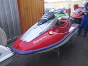 Clearance of Japanese Jet Ski Kawasaki ZX1100 RED